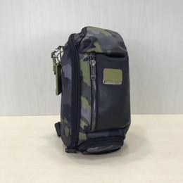 Mann kleine business-tasche online-Ballistic Nylon Tumi-232399 Männer kleine Tasche Umhängetasche Business Casual Rucksack Messenger Bag Brusttasche Tasche