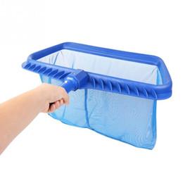 2019 detergenti per serbatoi di pesce Rete per rastrelliera per piscine per impieghi gravosi con manico a clip