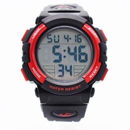 09b11b2c0d63 relojes automáticos digitales muñeca impermeable rojo para hombres reloj  digitais running mens mens digitales reloj creativo natación corriendo reloj  de ...