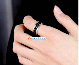 Wholesale Rose Gold Tungsten - titanium steel silver rose gold love ring gold ring for lovers couple ring