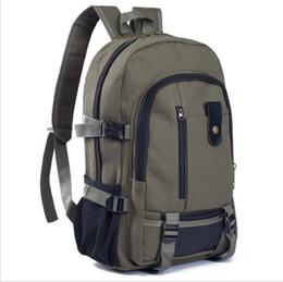 Canada 2018 nouveau sac à bandoulière pour hommes voyage de loisirs sac à dos en toile grande capacité étudiant livre sac Offre