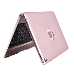 Tampa do teclado sem fio da apple on-line-Teclado sem fio bluetooth case para novo ipad 2017 2018 capa protetora abs para apple ipad 9.7 pro9.7air1 2 f19b