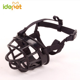 Wholesale Extra Strong - High Quality Dog Muzzle Soft Silicone Strong Muzzle Basket Design For Big Dog Anti-biting Adjusting Straps Mask Product 8W20