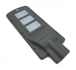Привет q онлайн-Привет-Q светодиодные солнечные уличные фонари 20 Вт 40 Вт 60 Вт AC 85-265 в радарный датчик фотоэлемент датчик светодиодные дорожные фонари водонепроницаемый IP65 открытый лампы