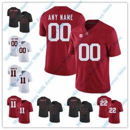2019 derrick henry maillot de foot Alabama Crimson Tide Jersey Marque Ingram Don Hutson Derrick Thomas Ozzie promotion derrick henry maillot de foot