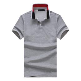 2018 Sommer Heiße Neue Fliesen Männer Farben Rüsche Entwurfs Beiläufige  Große Größen T Shirt Bequemes Breathable Mode Beiläufiges Polo Hemd
