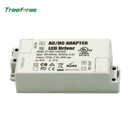 adaptateur secteur 12v 4a Promotion Alimentation CA 12 volts du pilote LED 6W 12W AC 110V 220V à 12V adaptateur d'éclairage de transformateur pour LED sous les lumières du cabinet