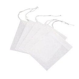 Wholesale China Glaze Sets - 100pcs pack Teabags Empty Filter Brew Tea Ball Bags Paper Strainer Scented Small Floral Tea Pack Non-woven Fabrics
