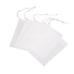 Canada 100pcs / pack Sachets de thé vider le filtre Brew Boule à thé sacs en papier tamis parfumé petit pack de thé floral Tissus non tissés Offre