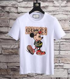 Wholesale T Shirt Street Wear - Summer Street wear Europe Paris Fan Made Fashion Men High Quality Broken Hole Cotton Tshirt Casual Women Tee T-shirt