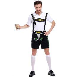 Disfraz de cerveza alemana caliente hombre traje adulto Oktoberfest para hombre Cosplay Cosplay Disfraces de Halloween adultos desde fabricantes