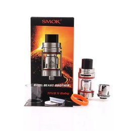 Wholesale Clone X - smoktech smok tfv8 X-baby x baby beast brother the full kit kits tank tanks atomizer clearomizer vape Coil Coils Head vaporizer clone clones