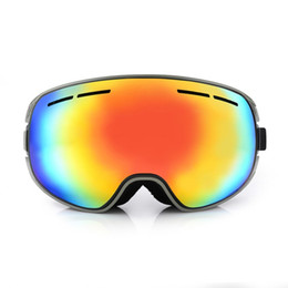 Argentina Marca Adult Ski Goggles Hombres Snowmobile Snowboard Skate Snow Skiing Glasses con Quick Lens-changing UV400 Anti-fog lente doble cheap quick lens Suministro