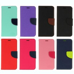 Wholesale cars card holder - Flip Hybrid leather case For Samsung Galaxy Note8 S7 edge S8 S9 Plus A8 2018 For Iphone X 8 7 6 Wallet TPU Gel cover Stand Car holder cases