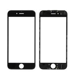 2019 iphone 6s oca Meilleure Qualité Pour iPhone 5 5S 6 6S Plus 7 8 Plus Panneau Écran Tactile Avant Lentille En Verre Extérieure + Cadre Presse Froide + OCA Installé iphone 6s oca pas cher
