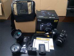 Wholesale 13 mega - Upgraded Professional Protax POLO SLR D7100 13 Mega Pixels HD 33MP FULL HD1080P 24X Digital Camera with Interchangeable Lens