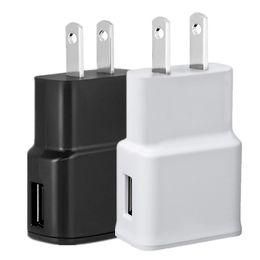 samsung 5v 2a ac eu Desconto 5 V 2A 5 V 1A (Impressão 2A) EUA Plug UE Ac casa carregador de parede adaptador de energia para samsung s4 s6 nota 2 4 para iphone 5 6 7 mp3 gps