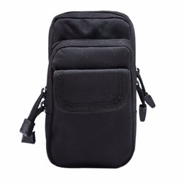 Wholesale utility tool boxes - Outdoor Military EDC Nylon Tactical Molle Waist Pack Tools Utility Sundries Pouch Equipment Packs Bags