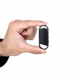 Gravador de voz de espião de áudio on-line-8 GB Spy Mini Gravador de Som de Áudio profissional Gravador de Voz Digital Gancho Design Gravadores Chaveiros Dictaphones