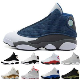 Wholesale cheap winter shoes for women - Cheap New 13 13s mens basketball shoes Love Respect Black White Red Grey Toe sneakers women sports trainers running shoes for men designer