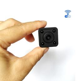 Mini cámara Wifi P2P de visión nocturna con batería de iones de litio Cámara de monitoreo remoto Soporte de red remota # WIFI9527 desde fabricantes