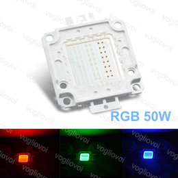 chip diy rgb led Desconto LED Talão RGB 50 W Alta Potência 1250mA 4750LM COB 30MIL Chip Para Holofote Highbay Lâmpada Diy EPACKET