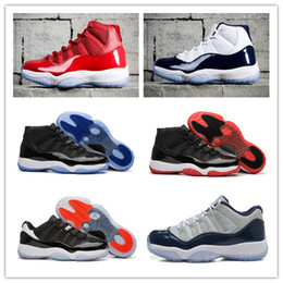 "Wholesale Blue Green Shoes - 2017 Number ""45"" 23 Retro 11 Space Jam Basketball Shoes Men Women win like 82 Sport Shoes Top win like 96 Athletic Sport Trainers With Box"