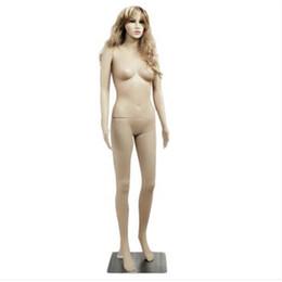 modelo de mão feminina Desconto Atacado frete grátis XSL6 fêmea mão reta dobrado pé corpo modelo manequim cor da pele
