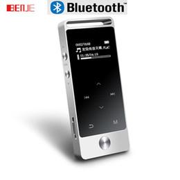 сенсорный экран 8gb Скидка Wholesale-Original Touch Screen MP3 Player Bluetooth 8GB BENJIE S5 High Sound Quality Entry-level sport MP3 Music Player with FM