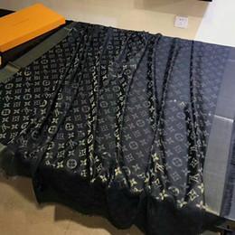 Klassische Marke Mode Paris Show Designer Schal Top Luxus goldenen Faden Wolle Textil Schal Frau Schal Schal 140cm von Fabrikanten