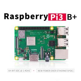Bluetooth prozessor online-Raspberry Pi 3 B + (B +) 1,4 GHz Quad-Core 64-Bit-Prozessor BCM2837B0 Wifi Bluetooth 4,2 1 GB RAM