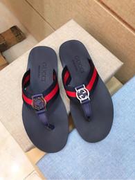 70a1e6b082de19 Non-slip slippers flip flops 207540 Men Slippers Slippers Drivers Sandals  Slides Sneakers Leather Slipper