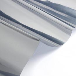 isolierfolienpapier Rabatt NOCM-2M Silber Reflektierende Sonnenschutzfolie für Fensterfolie Papier Isolationsaufkleber One Way Spiegel