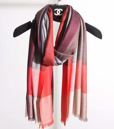 Wholesale doe animal - Hot style plaid women spring and summer autumn silk scarf shawl unique color design does not lose the feminine elegance.