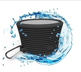 Wholesale Bicycle Built - Waterproof Bluetooth Speaker Rechargeable Wireless Speaker w  Built-in Mic Microphone Controls and Subwoofer F Sport Driving Bicycles Phone