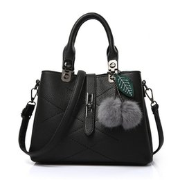 Tote cor-de-rosa dos sacos da marca on-line-Novas Mulheres Sacos de Bolsas de Ombro Menina PU de Couro Sacos de Bolsas Doce Bolsa de Moda Feminina Coreano Pacote de Saco Diagonal Sacos de Marca Feminina