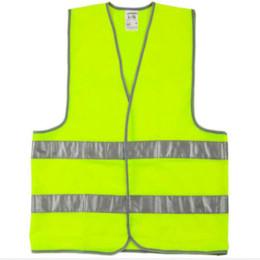 Жилет одежда трафик мотоцикл ночь Райдер зеленый безопасности видимость светоотражающие Велоспорт Спорт на открытом воздухе chaleco reflecta от Поставщики зеленый велосипедный жилет