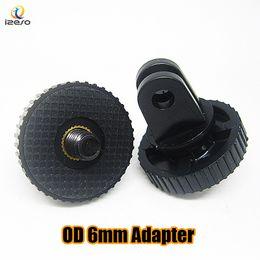 универсальное крепление для мини-штатива Скидка Универсальный Gopro мини монопод штатив адаптер 6 мм конвертер держатель кронштейн разъем для GoPro HD Hero 3+ 3 2 1 sj4000 камера