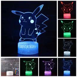 Illusionslampen der Atmosphäre-3D Nachtlicht gehen Nachtlicht-Kindergeschenk-Karikatur-Muster-Schreibtisch-leuchtende Beleuchtung von Fabrikanten