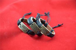 Canada Bracelets de marque de sport de luxe de haut niveau Bracelet en peau de vache pure pour costume en cuir pour homme cadeau bracelet 2018 supplier cowhide skin leather Offre