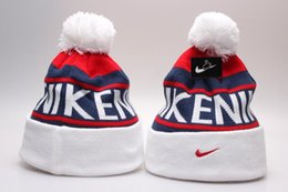 Wholesale Knit Beanie Hats For Women - 2018 Sport Outdoor Beanie For Men and Women Knitted Fashion Caps casual Beanies Winter sport Caps
