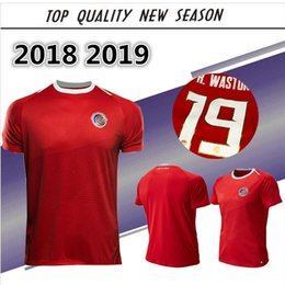 Wholesale costume national men - Costa Rica Soccer Jerseys Top quality 2018 World Cup Costa Rica Home Football Shirts National team football costume