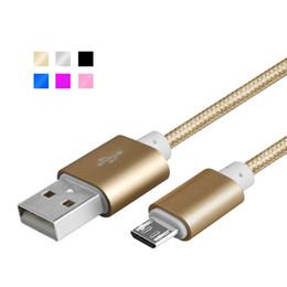 Argentina Cable USB Micro USB Cable de datos de carga rápida Android Cable de carga Micro-USB Cables de teléfono móvil para Samsung Xiaomi LG Motorola cheap xiaomi micro usb Suministro