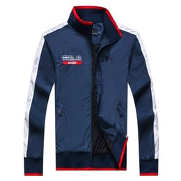 Wholesale Good Jacket Brands - Men's Outerwear Double-sided Wear Jackets Famous Brand Designer Personality Sports Golden Camo Coats Zippered Hoodies Good Quality rngpbqhhh