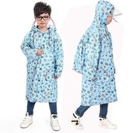 Wholesale Cloak Raincoat - Children Raincoat Rainwear Sets Girls Poncho Waterproof Cute Cloak Cape Capa De Chuva Impermeable Bag Raincoat Clothes QQG287