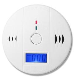 Canada Alarme Détecteur De Gaz Combustible De Monoxyde De Carbone Alarme De Fuite De CO Indépendant Affichage LCD Batterie Fonctionnement Bouton de Test Offre