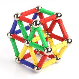 Wholesale Construction Pieces - 103 Pieces Magnetic Toys Magnets Building Educational Sets Construction Blocks Toys Magnet Stick Build Toy for Toddlers