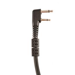 auriculares comtac Rebajas Etmakit Auriculares ocultas del auricular del tubo acústico del micrófono de la radiación anti para el Walkietalkie de la radio bidireccional de ICOM