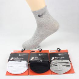 calcetines invierno calidad hombre Rebajas Pop marca ocio calcetines deportivos otoño invierno algodón moda 100% calcetines anti-olor calcetines de baloncesto de los hombres marea venta al por mayor de alta calidad
