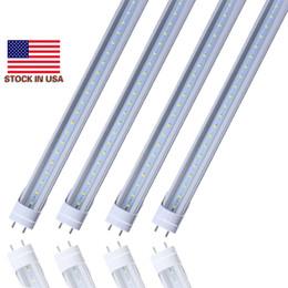 Wholesale g13 t8 smd led tube - US STOCK+ 18W 20W 22w LED Tubes G13 4ft 4 Foot T8 1200mm 2400lm tube light Lamp AC85-265V SMD2835 Led lights Super Bright
